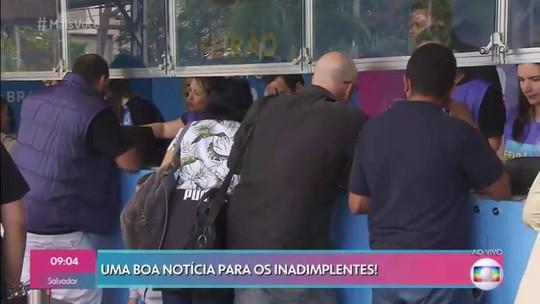 Feirão Limpa Nome da Serasa tem renegociação de dívidas com até 80% de desconto