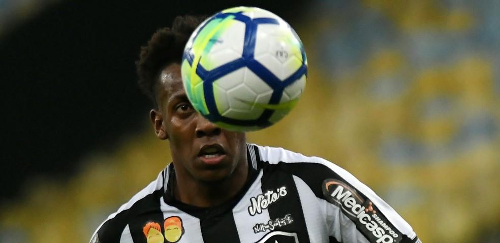 Moisés desfalca o Botafogo contra o Sport (Foto: Alexandre Durão)