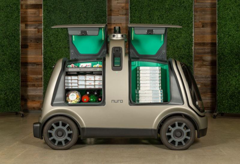 Domino's realizará entregas robotizadas de pizza ainda este ano (Foto: Divulgação)