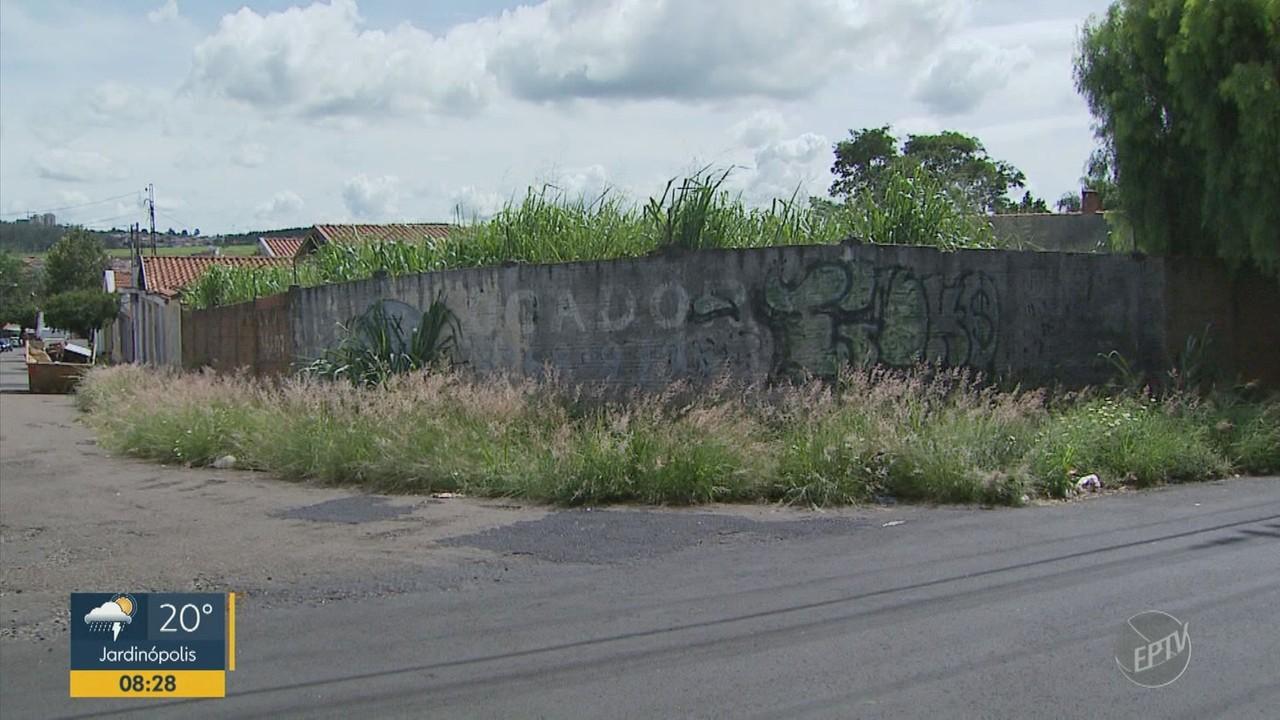 São Carlos promete intensificar fiscalização para coibir sujeira em terrenos