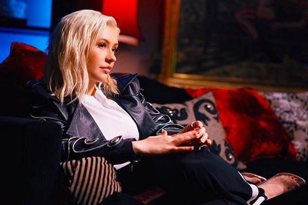 A cantora Christina Aguilera (Foto: Instagram)
