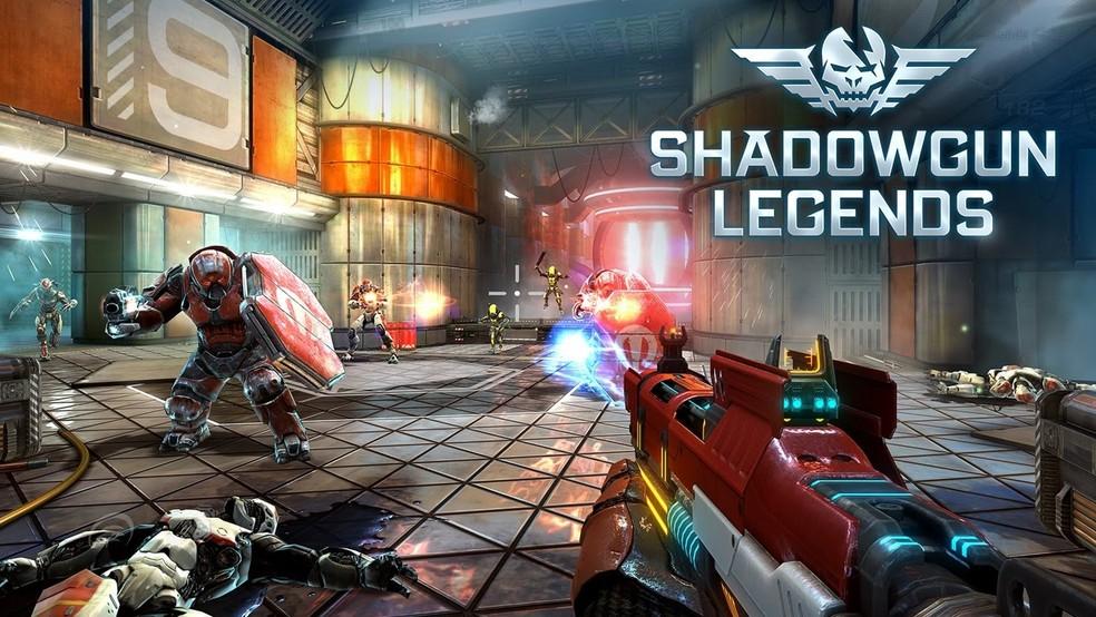 Shadowgun Legends foi eleito o jogo mais bonito de 2018 — Foto: Divulgação/Madfinger Games