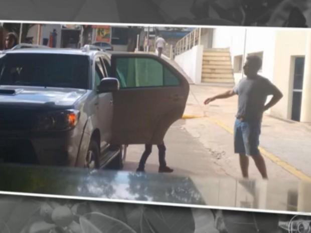 Luciano Huck se envolveu em acidente no Mato Grosso do Sul (Foto: Reprodução/Rede Globo)