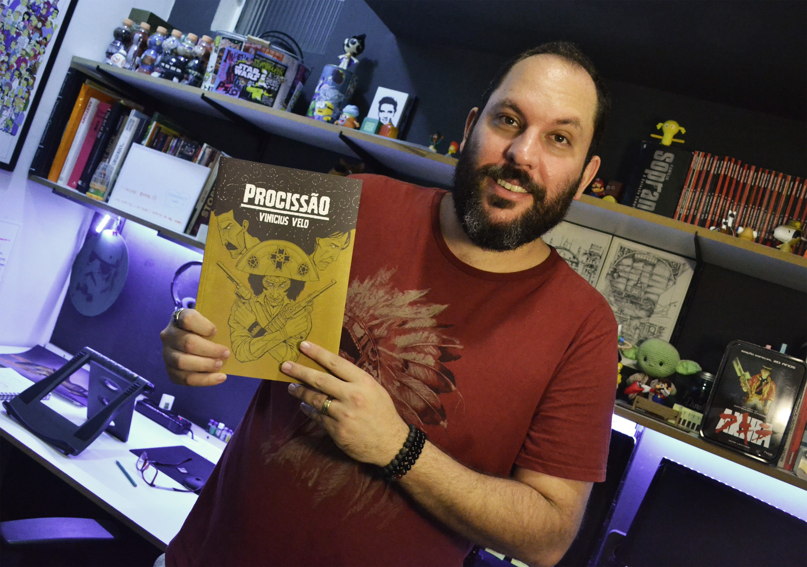 Produzida por piracicabano, história em quadrinhos sobre cangaço é lançada em Piracicaba - Noticias
