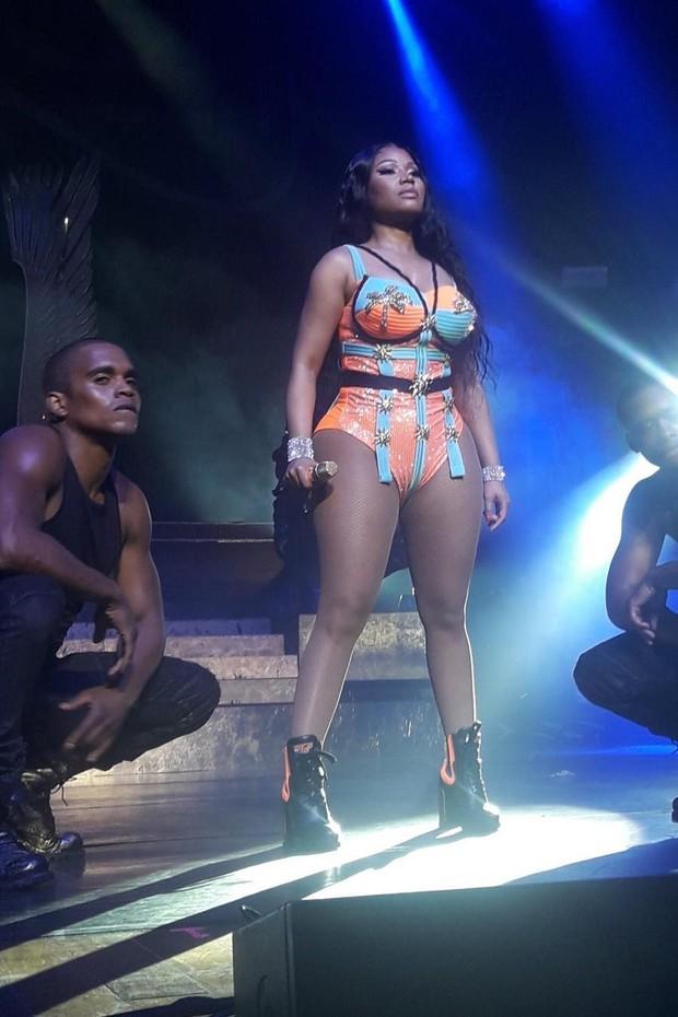 Show Nicki Minaj (Foto: Reprodução/Twitter)