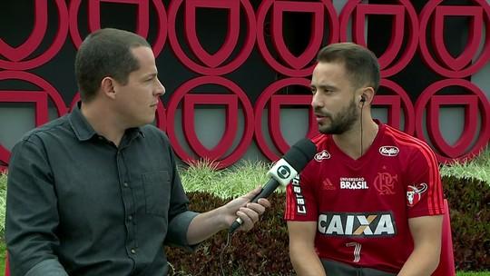 """Com Tite no Maracanã, Éverton Ribeiro fala sobre expectativa de convocação: """"Espero que ele tenha gostado"""""""