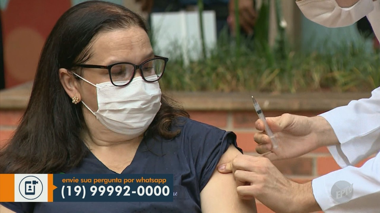Campinas soma 3.362 profissionais de saúde vacinados contra o coronavírus até este sábado