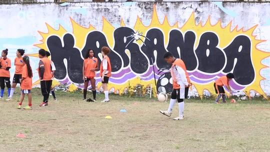 Projeto em São Gonçalo abre portas para meninas e mulheres que queiram jogar futebol