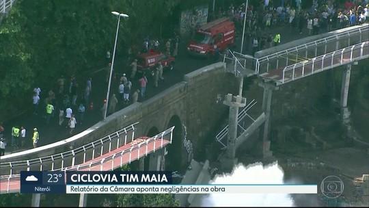 Câmara aprova relatório final da CPI da Ciclovia Tim Maia