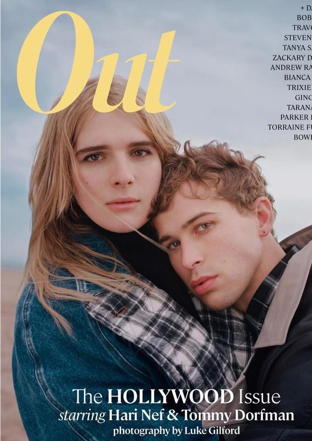 Out Magazine (Foto: Reprodução/Instagram)