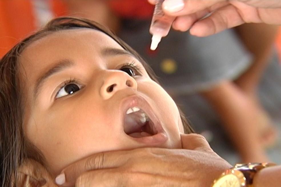 No Brasil, um total de 312 municípios estão com baixa cobertura para a vacina (Foto: Reprodução/TV Tapajós)