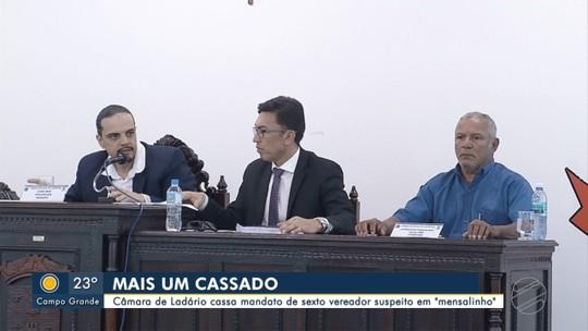 Câmara de Ladário, MS, cassa mandato de sexto vereador suspeito de mensalinho