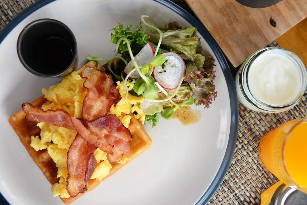 Ovos com bacon (Foto: Divulgação)
