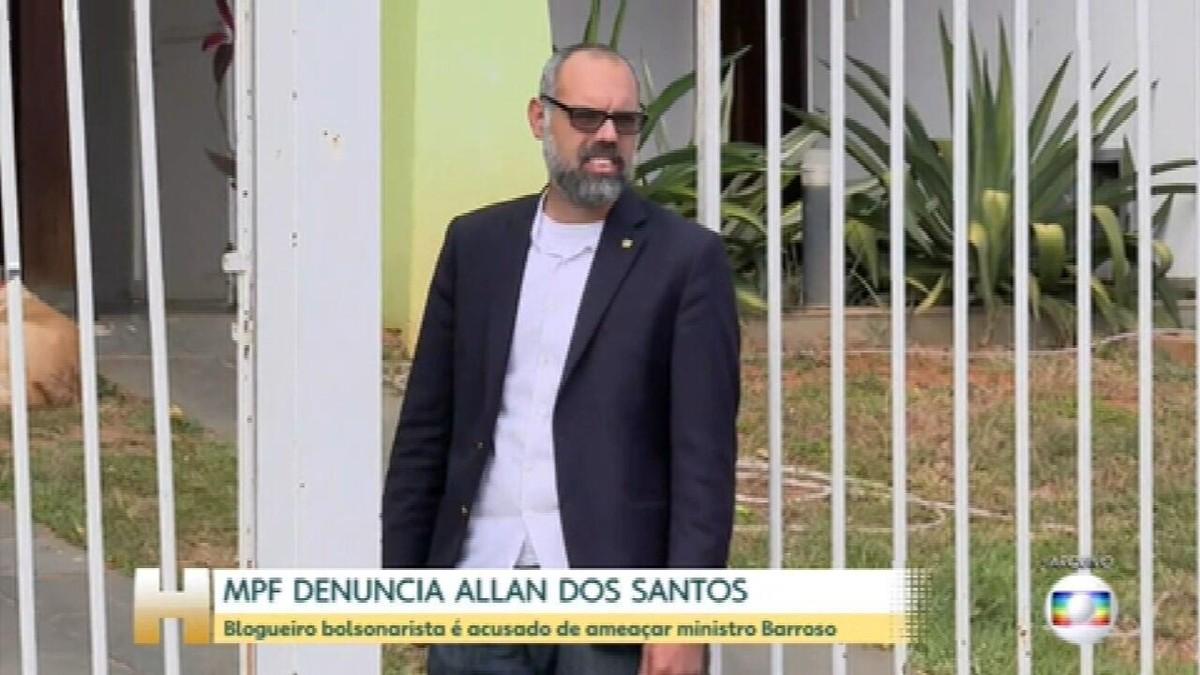 Moraes determina prisão preventiva de blogueiro bolsonarista e início do processo de extradição