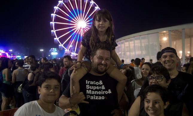 Crianças no Rock in Rio: veja dicas de segurança