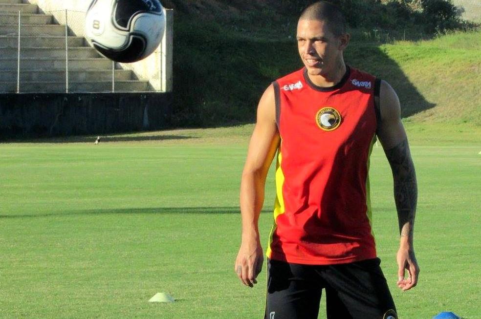 Atacante Luizão acertou a rescisão com o Globo FC (Foto: Rhuan Carlos/Divulgação)