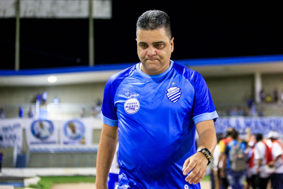 Marcelo Cabo, técnico do CSA — Foto: Ailton Cruz / Gazeta de Alagoas