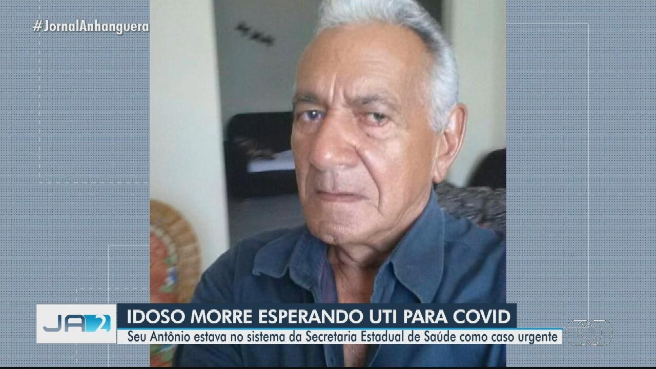 Idoso morre esperando vaga de UTI em Goiás
