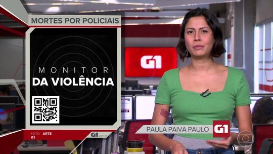G1 em 1 Minuto: Maioria dos estados registra queda no nº de pessoas mortas pela polícia