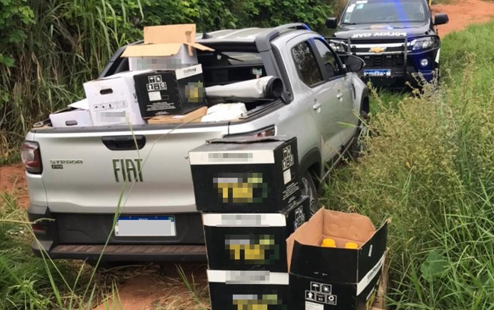 Polícia Civil recupera carga avaliada em R$ 60 mil em Passos, MG