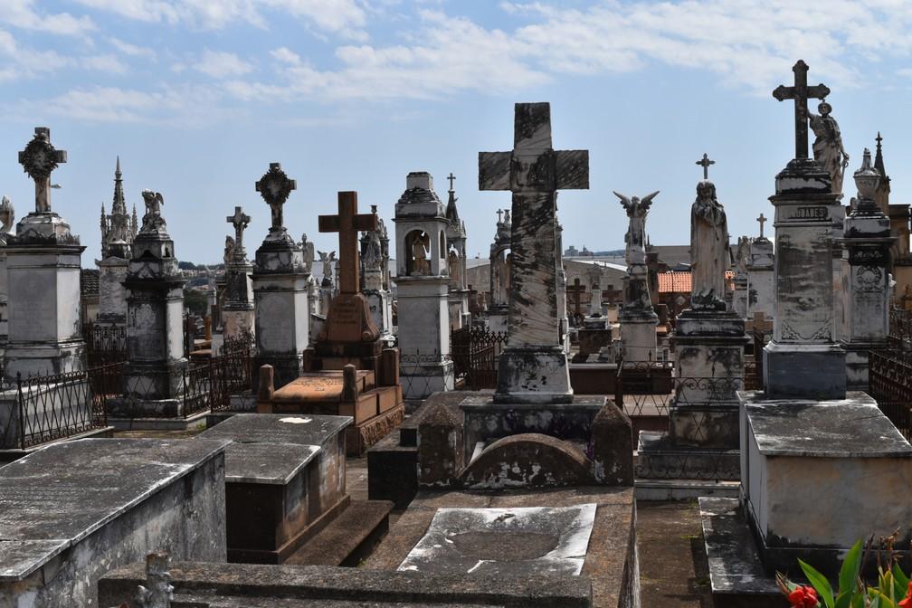 Segundo historiador, mais de 2 milhões de corpos estão sepultados no Cemitério da Saudade — Foto: Rui do Amaral/G1