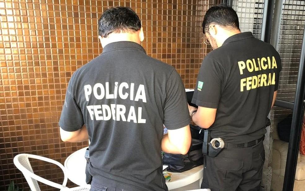 Operaçaõ Acesso Negado — Foto: PF/SE