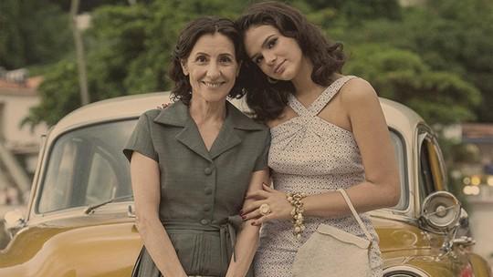 Cassia Kis comenta cena emocionante com Bruna Marquezine em 'Nada Será Como Antes'