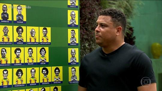 Duelo dos Sonhos: Ronaldo monta Brasil de todos os tempos e ousa em escalação