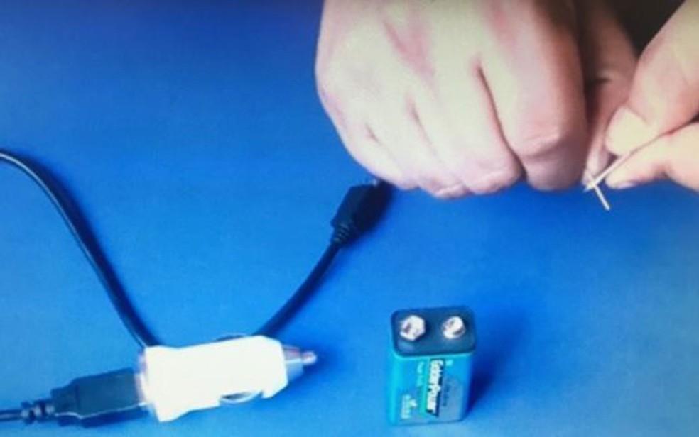 Metais são bons condutores de eletricidade  (Foto: YouTube/Mundo Top)