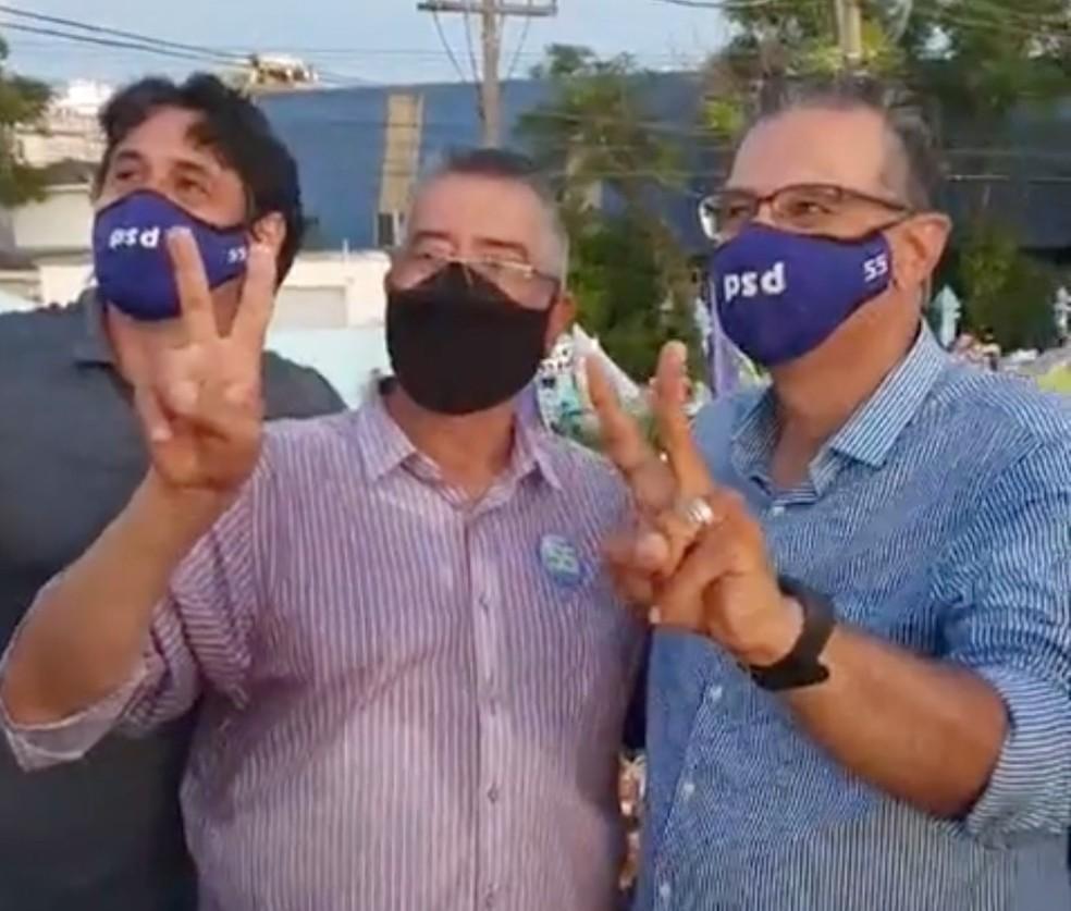 Jairo Jorge foi eleito prefeito de Canoas pela terceira vez — Foto: Reprodução/Facebook
