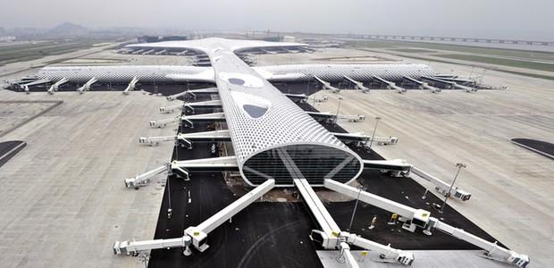 Aeroporto-Internacional-de-Shenzhen  (Foto: Divulgação)