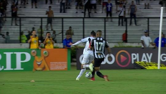 Marcelo Barreto diz que discorda do pênalti sobre Rildo, a favor do Vasco