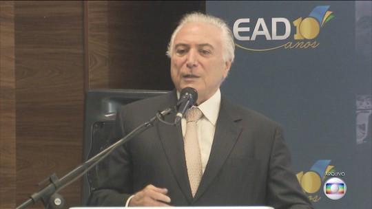 Força-tarefa da Lava Jato afirma que grupo criminoso chefiado por Temer atuava há 40 anos