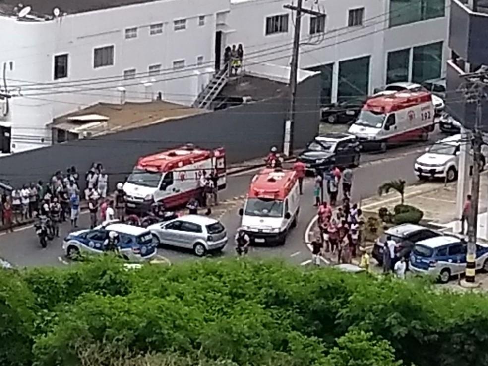 Crime aconteceu na manhã deste sábado, em Salvador (Foto: Arquivo Pessoal)