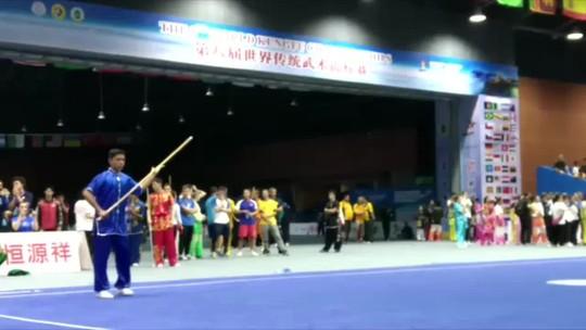 Kung Fu: Atleta rondoniense conquista medalha de bronze no mundial da China