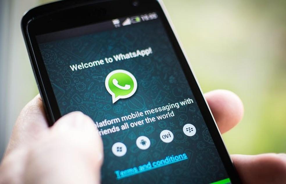 WhatsApp, aplicativo de mensagens instantâneas para celular e computador.  — Foto: Divulgação/WhatsApp