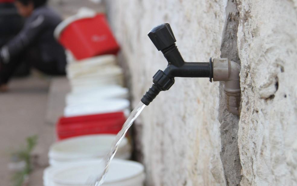 Após a conclusão dos serviços o abastecimento de água será restabelecido em São Luís, diz Caema — Foto: Biaman Prado/O Estado