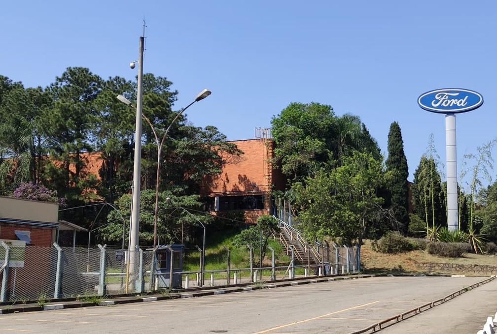 Fábrica da Ford em São Bernardo do Campo encerrou suas atividades — Foto: André Paixão/G1