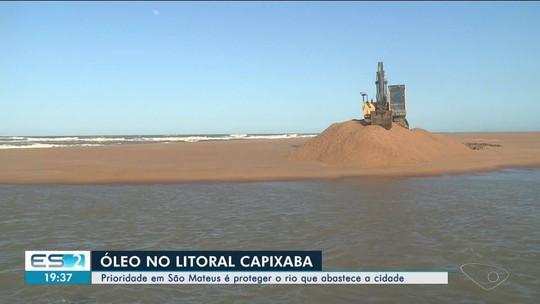 Contaminação do rio Cricaré com óleo preocupa moradores