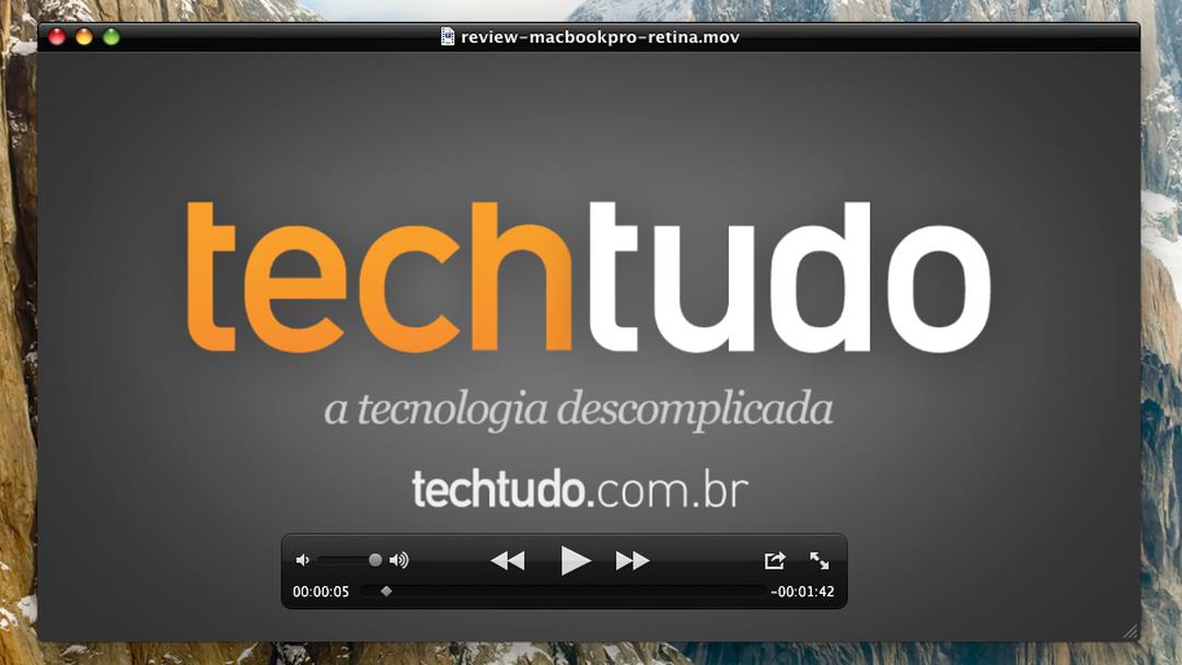 QuickTime | Download | TechTudo