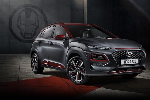 Hyundai Kona Iron Man (Foto: Reprodução)