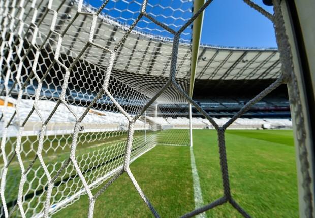 Rede do Mineirão. Foi no estádio que ocorreu o jogo no qual o Brasil perdeu para a Alemanha na Copa do Mundo de 2014 (Foto: Divulgação)