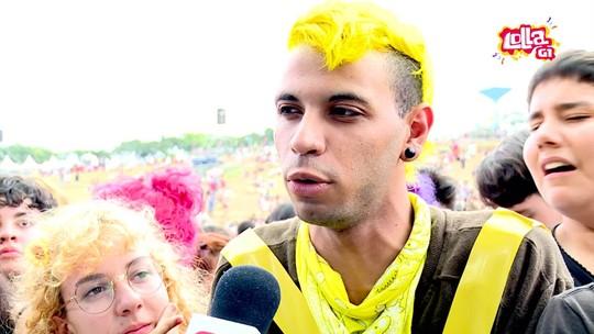 Fãs de Twenty One Pilots pintam até cabelos de amarelo para show