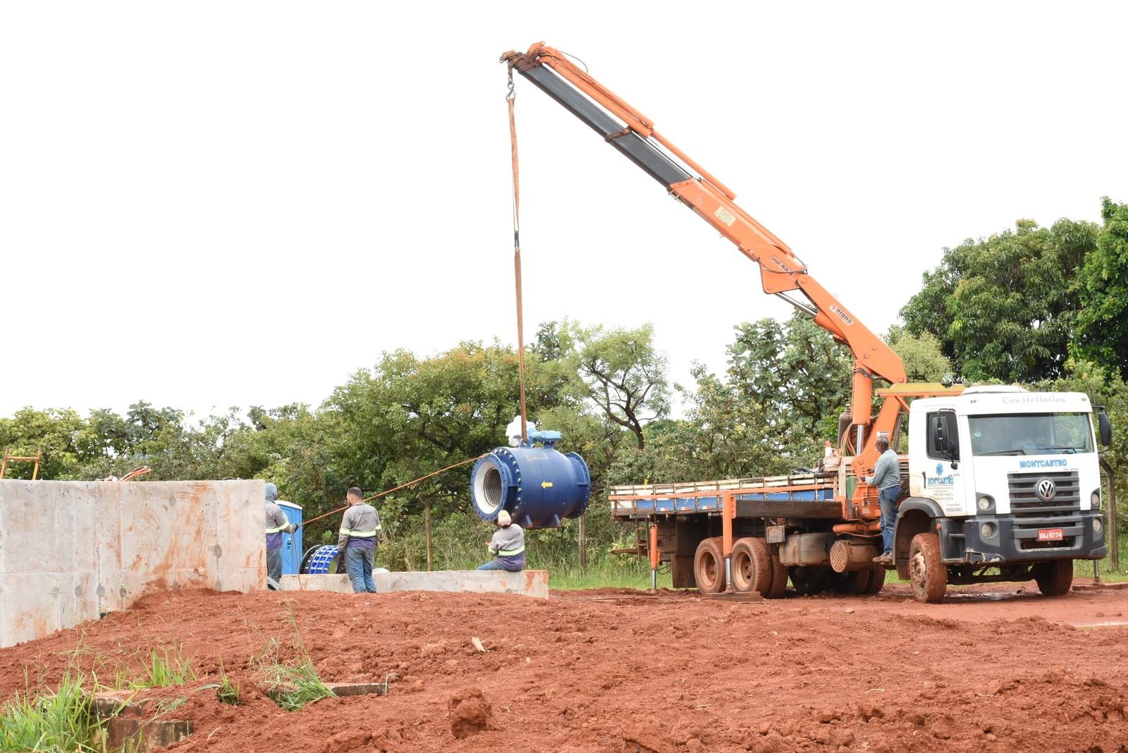 Em pré-operação, Sistema Capim Branco será interligado ao Centro de Reservação em Uberlândia