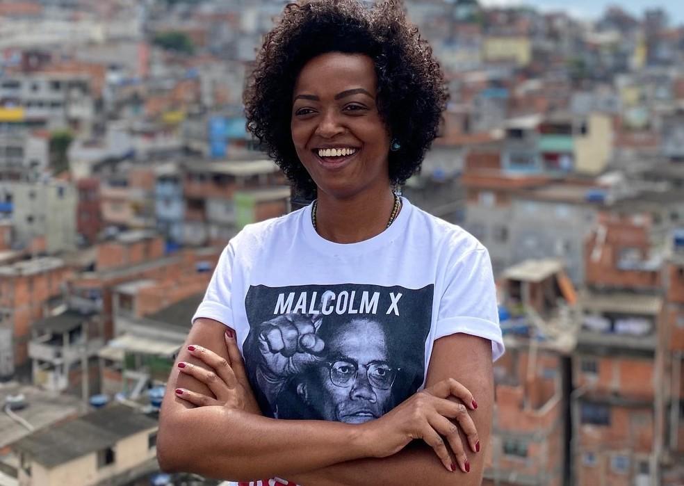 A nova secretária de Cultura da cidade de São Paulo, Aline Torres.  — Foto: Reprodução/Facebook
