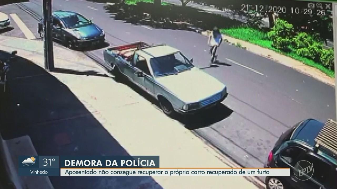 Aposentado em Ribeirão Preto não consegue recuperar carro que está com a Polícia
