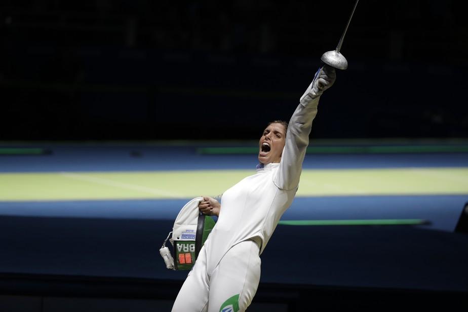 De olho em Tóquio 2020, Nathalie Moelhaussen fatura o bronze na etapa da China da Copa do Mundo