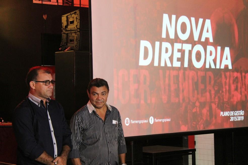 Vice-presidente eleito, Cunha encaminha planos para último ano de mandatao da atual gestão do Fla-PI — Foto: Emanuele Madeira