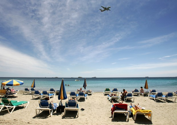 Playa D'En Bossa, em Ibiza (Foto: Getty Images)