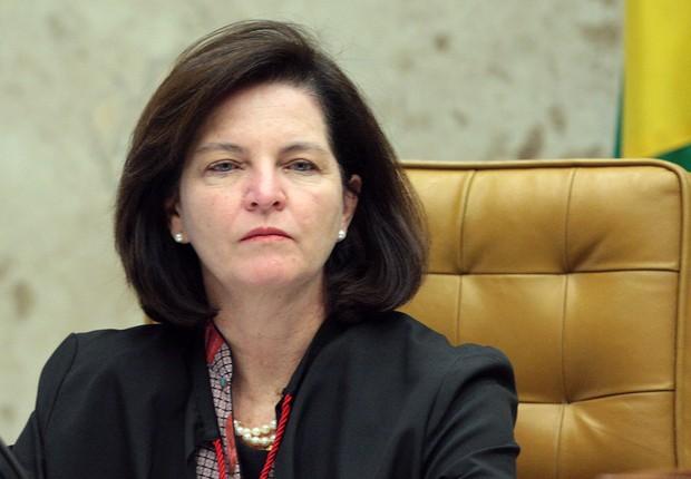 A procuradora-geral da República, Raquel Dodge em sessão do STF (Foto: Carlos Moura/SCO/STF)